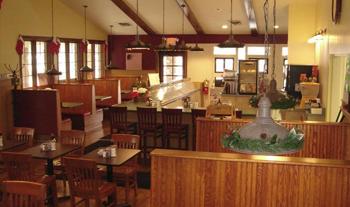 Pete's Orion Restaurant Interior
