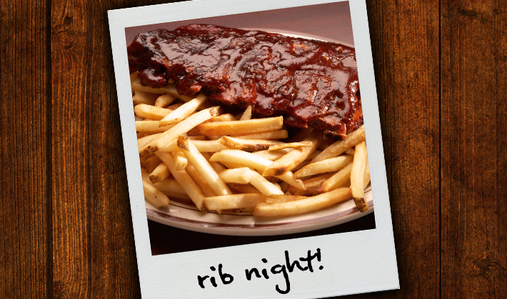 Pete's Orion Restaurant Rib Night